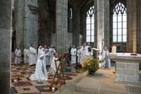 9 Professions perpétuelles sr Anne et fr Jean-Gabriel